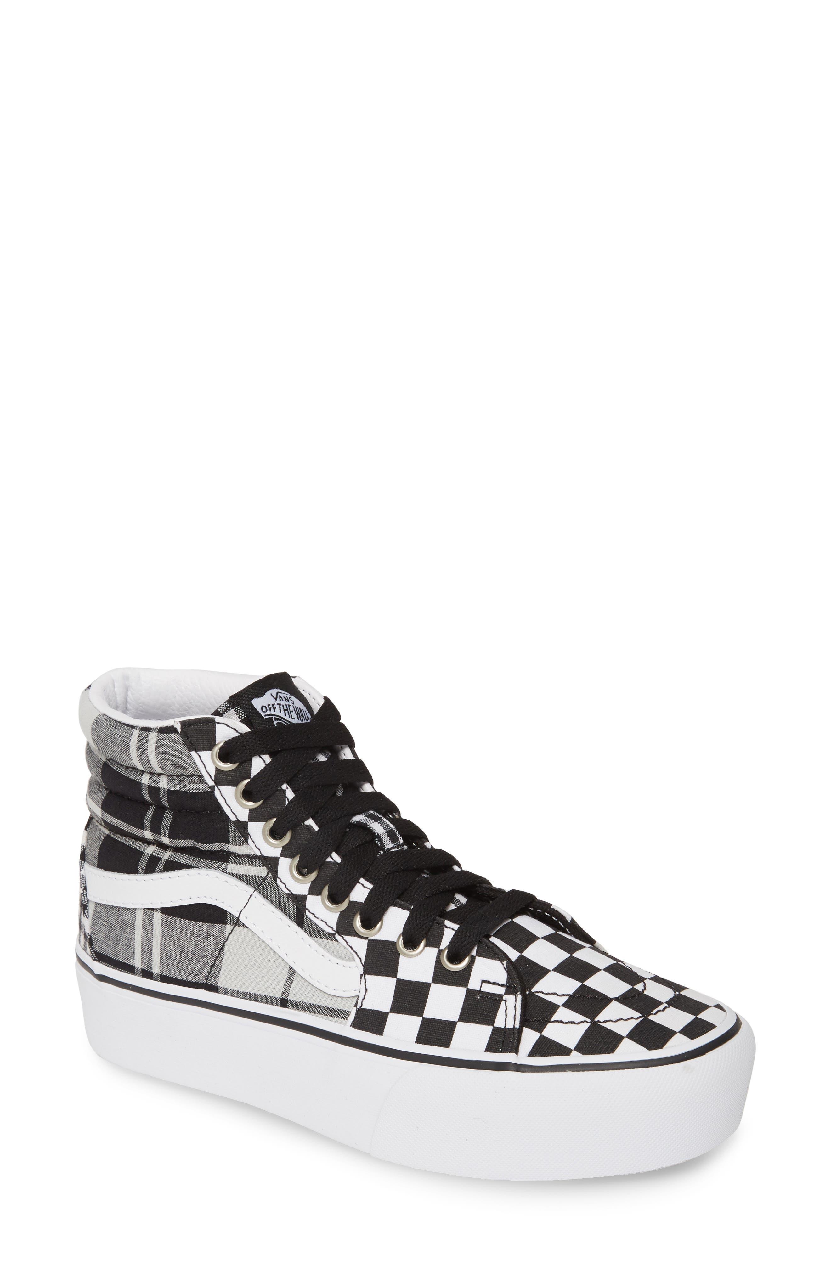 Vans Sk8-Hi Platform Sneaker- Black