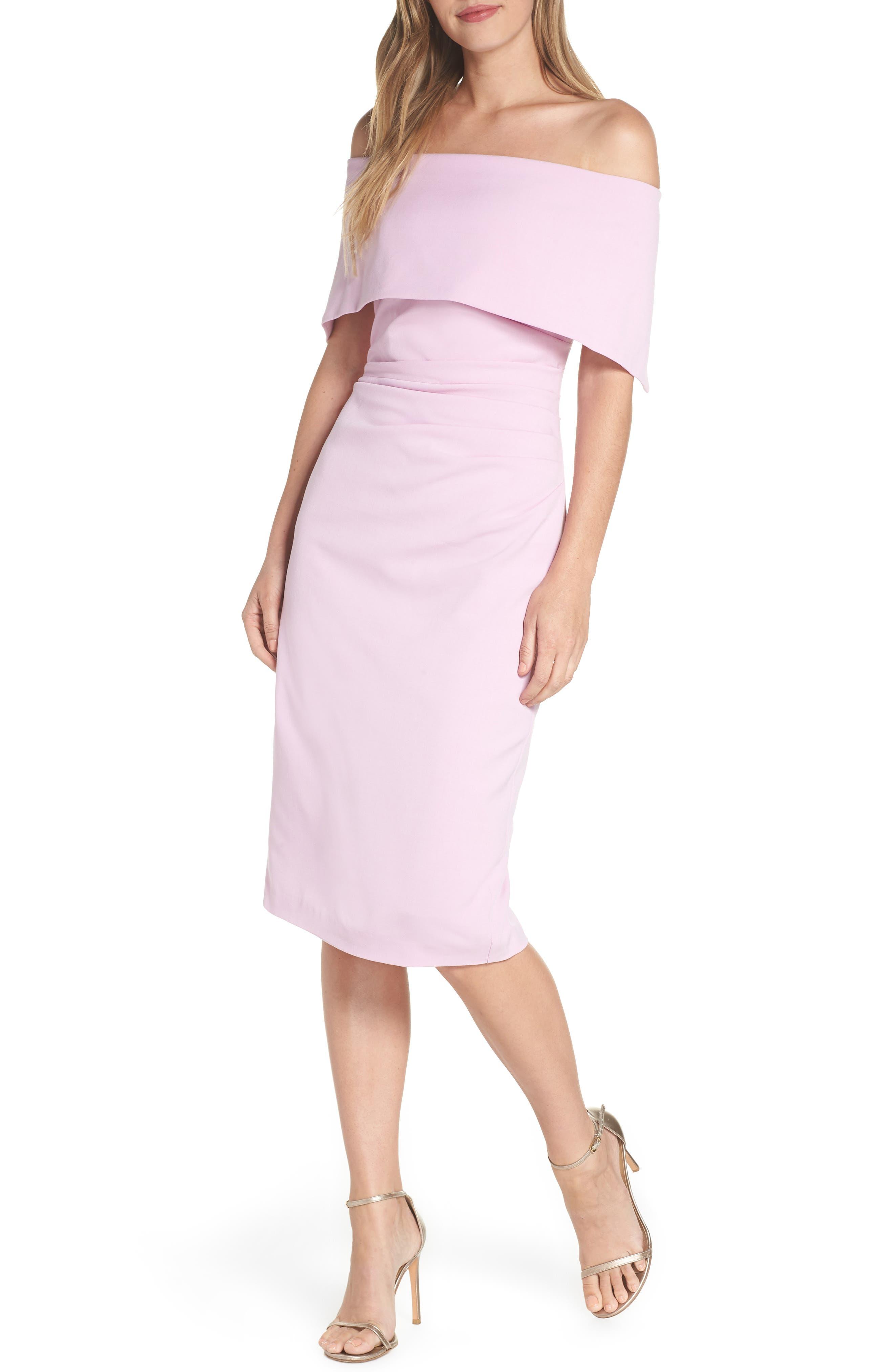 Vince Camuto Popover Dress (Regular & Petite)