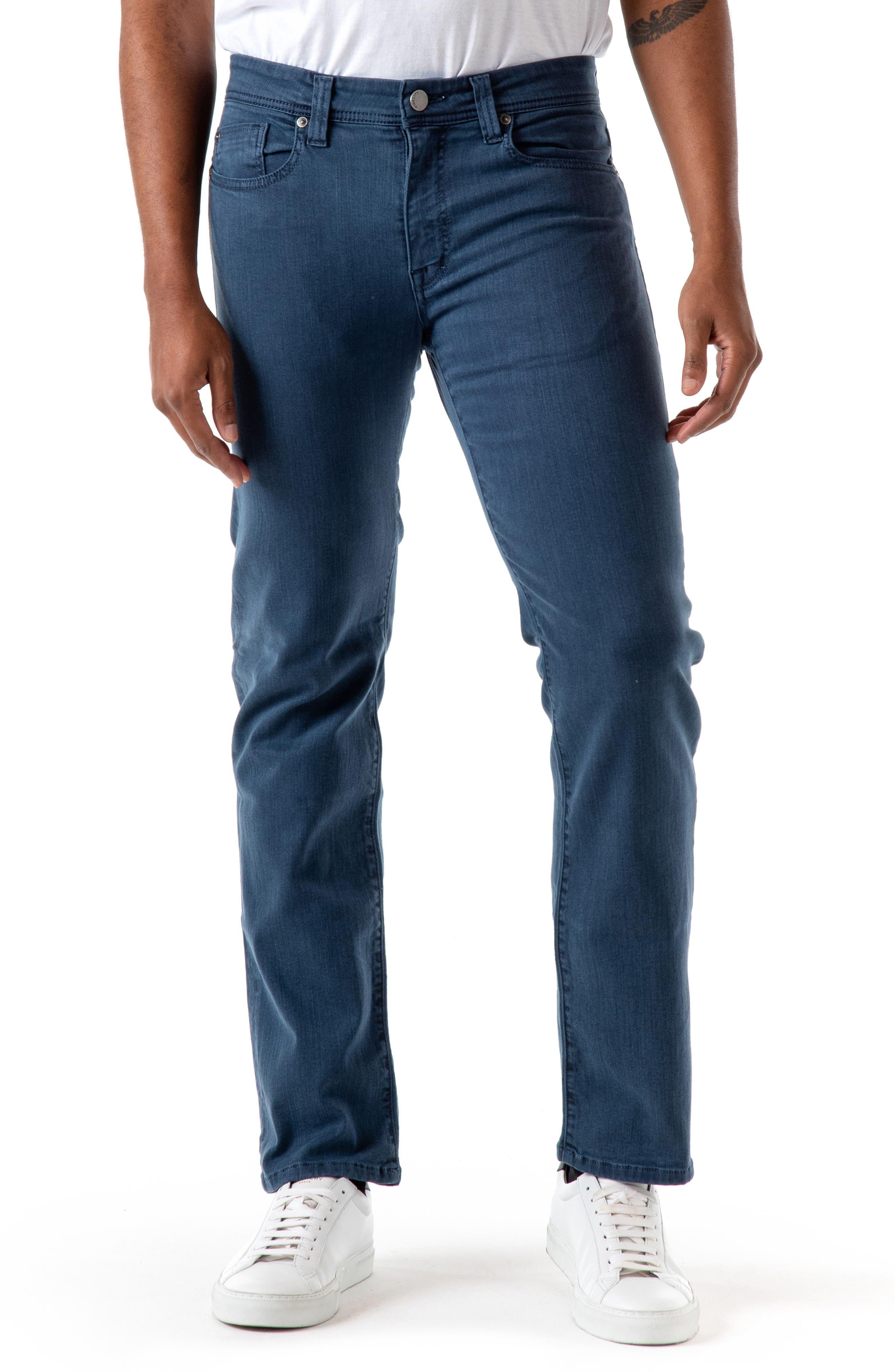 Jimmy Straight Leg Twill Jeans
