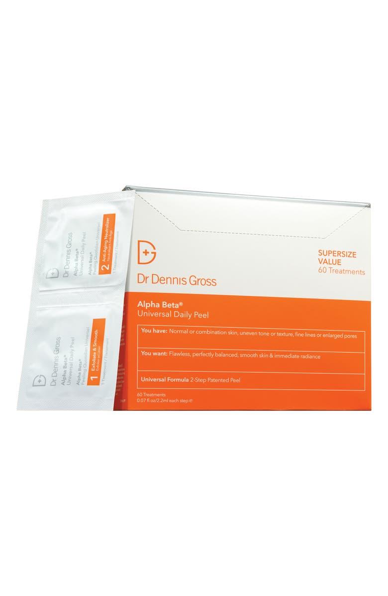 DR. DENNIS GROSS Skincare Alpha Beta<sup>®</sup> Peel Original Formula - 60 Applications, Main, color, NO COLOR