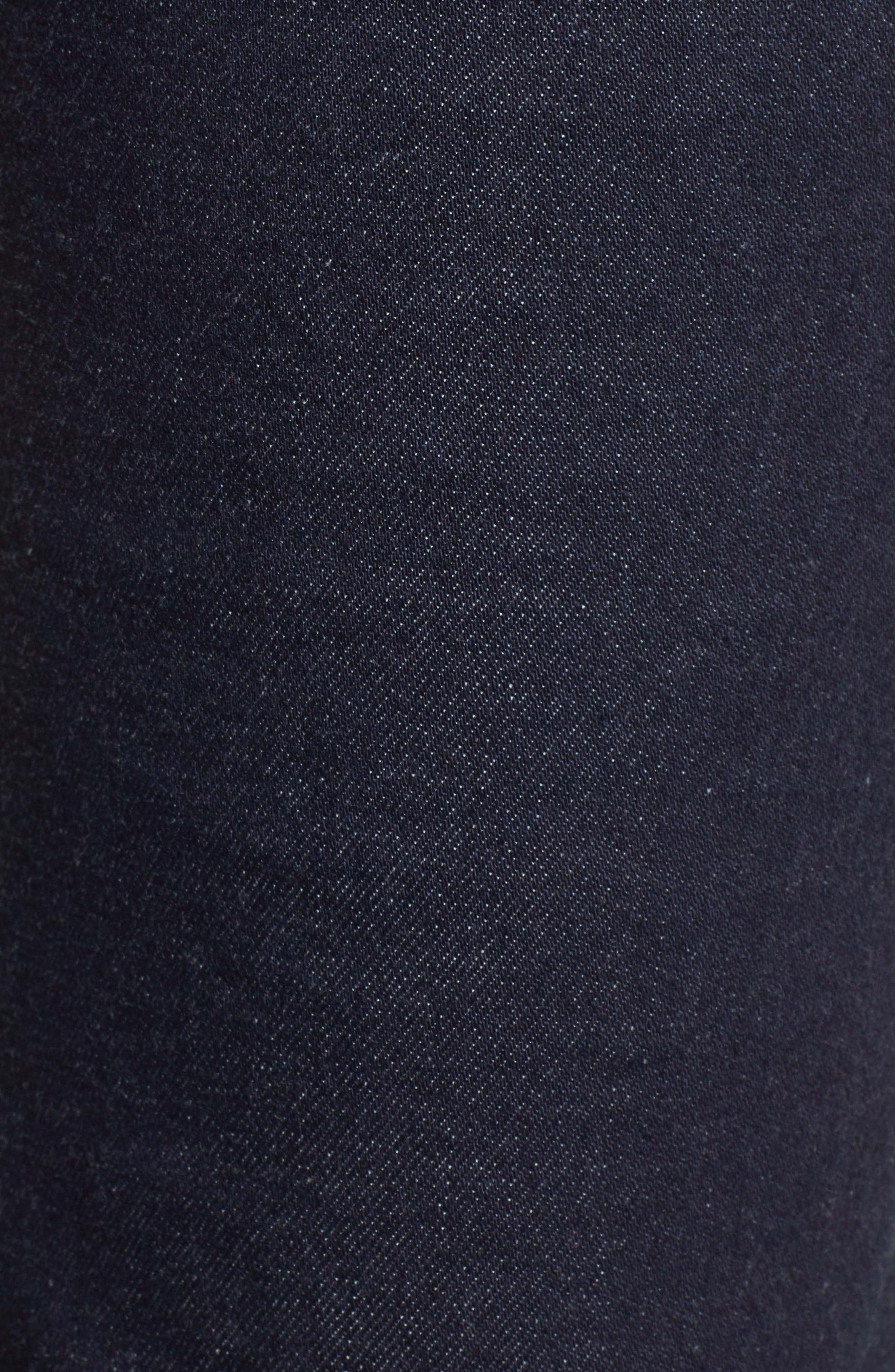 ,                             Stella Crop Straight Leg Jeans,                             Alternate thumbnail 6, color,                             402