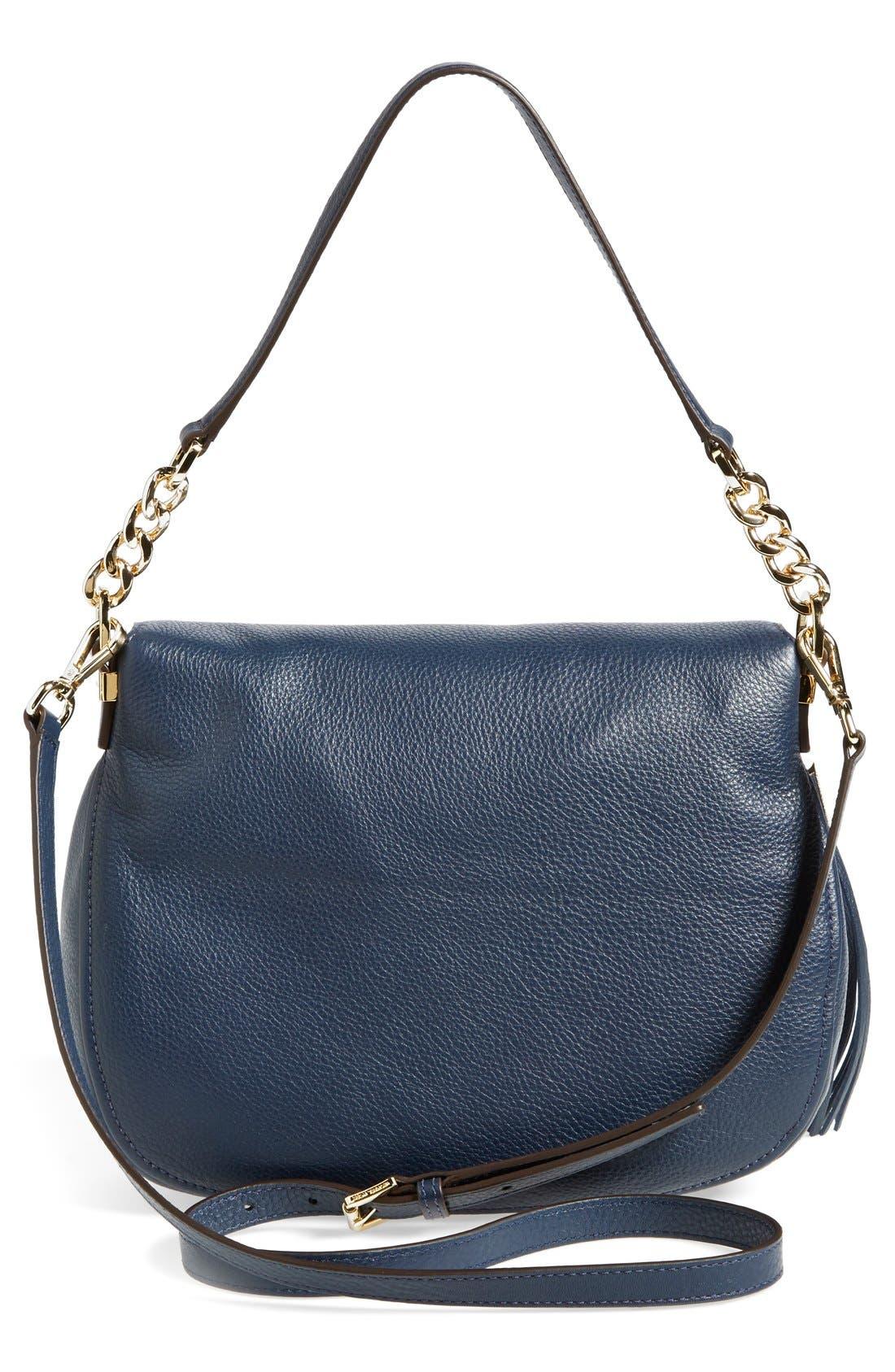 ,                             'Bedford Tassel - Medium' Convertible Leather Shoulder Bag,                             Alternate thumbnail 27, color,                             406