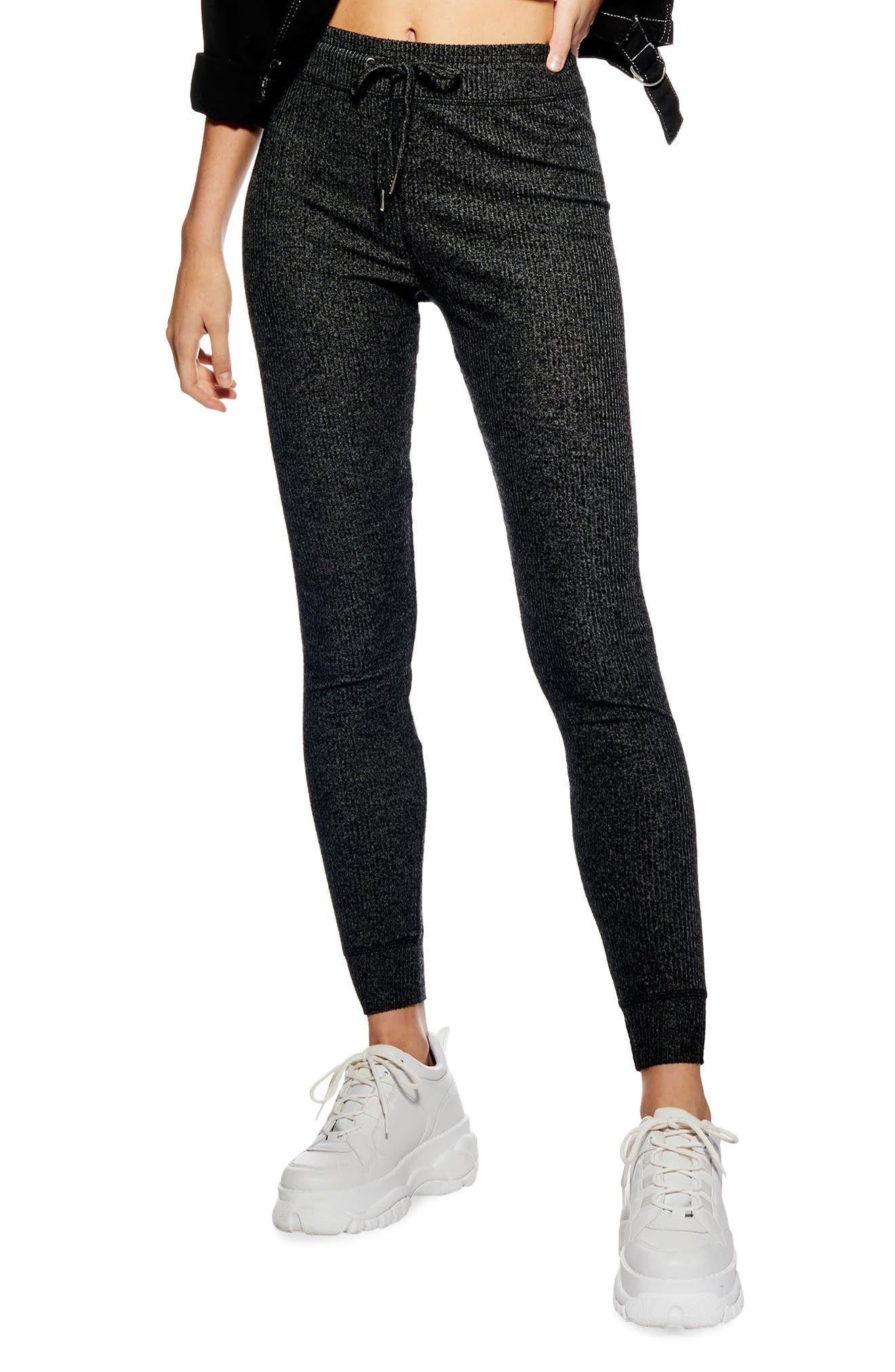 ,                             Ribbed Skinny Joggers,                             Main thumbnail 6, color,                             021