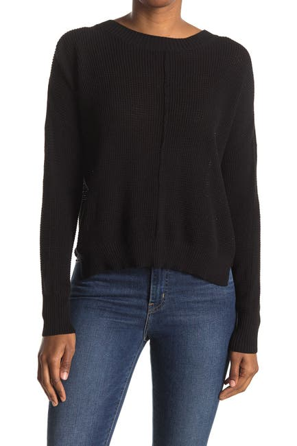 Image of Sweet Romeo Seed Stitch Pullover Sweater