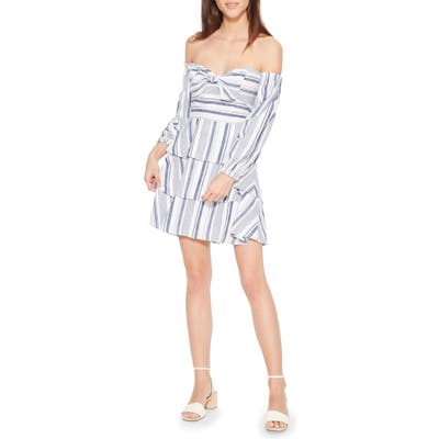 Parker Bahama Off The Shoulder Dress, Blue