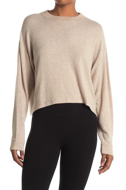 Image of Z By Zella Ella Crew Neck Knit Sweater