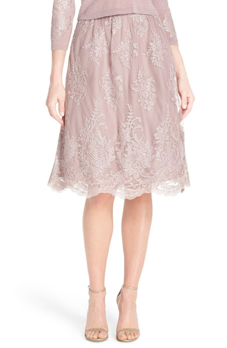 JENNY YOO Arianna Lace Skirt, Main, color, 533