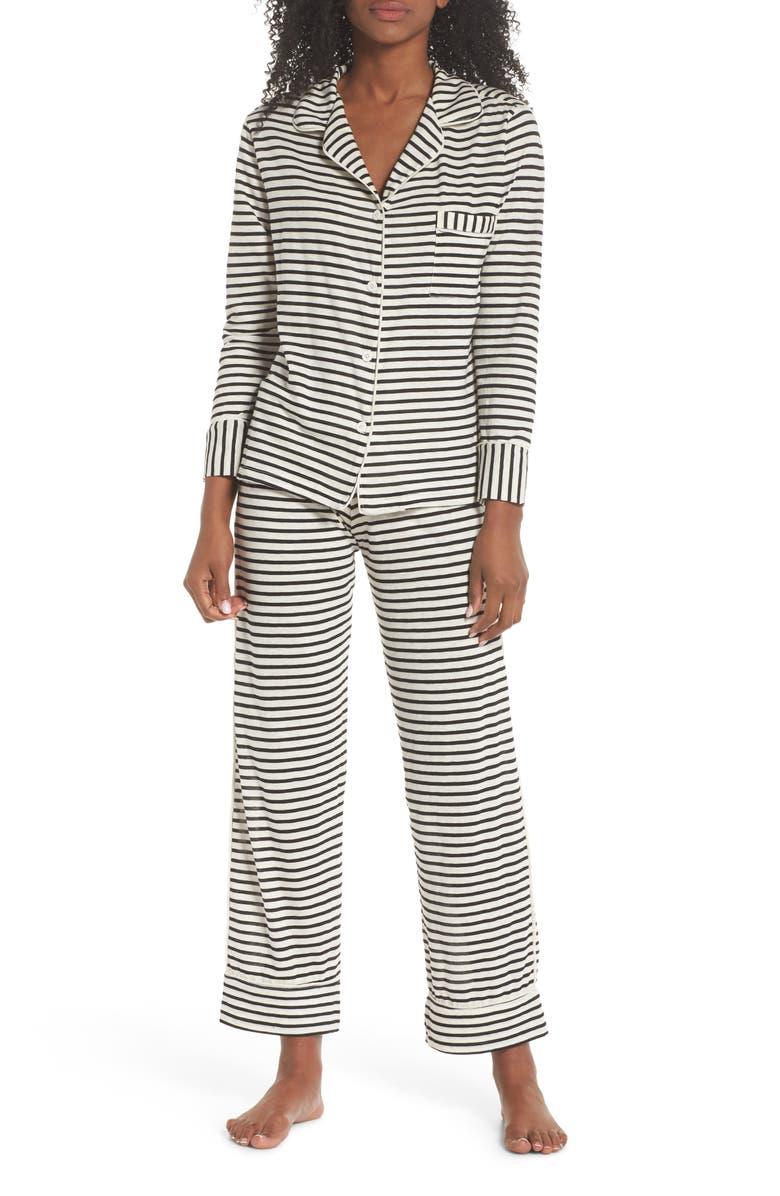MAISON DU SOIR Monaco Pajamas, Main, color, 003