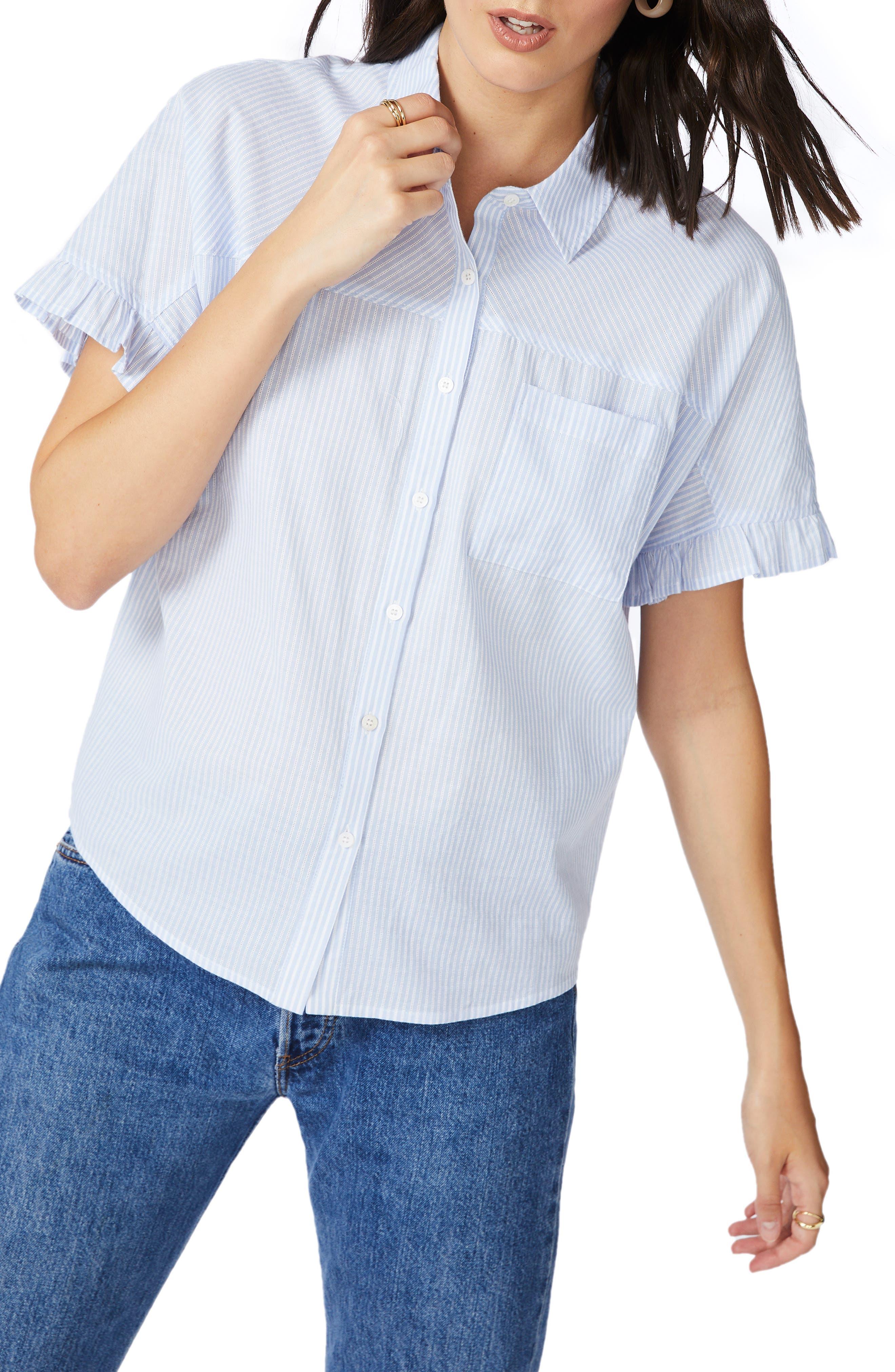 Court & Rowe Spring Stripe Shirt