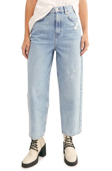 Image of Free People Frank Dad Jeans