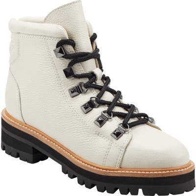 Marc Fisher Ltd Issy Hiker Boot, White