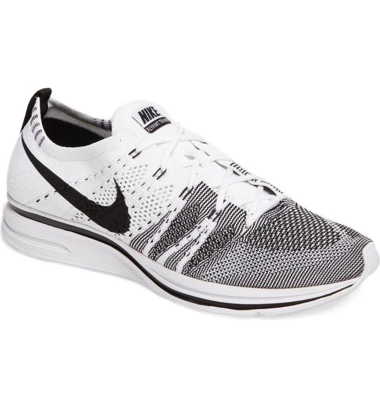 NIKE NikeLab Flyknit Trainer Sneaker, Main, color, 100