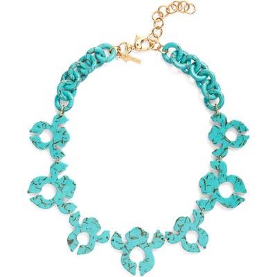 Lele Sadoughi Iris Shadow Collar Necklace