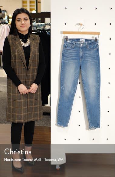 Hoxton Transcend Vintage High Waist Crop Skinny Jeans, sales video thumbnail