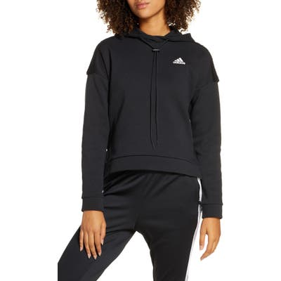 Adidas Toggle Fleece Hoodie, Black