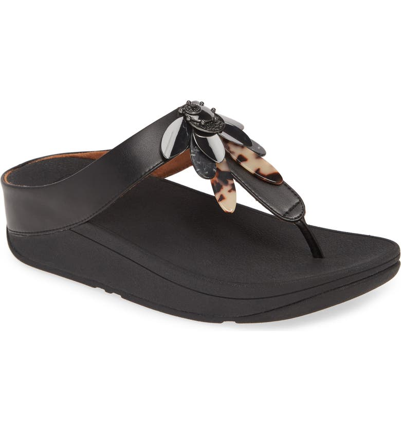 FITFLOP Conga Dragonfly Flip Flop, Main, color, 001