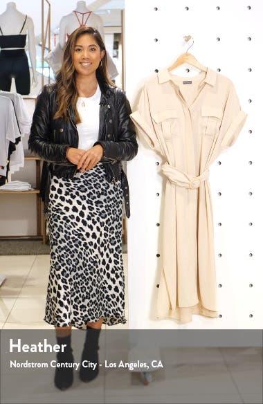 Rumple Twill Belted Midi Dress, sales video thumbnail
