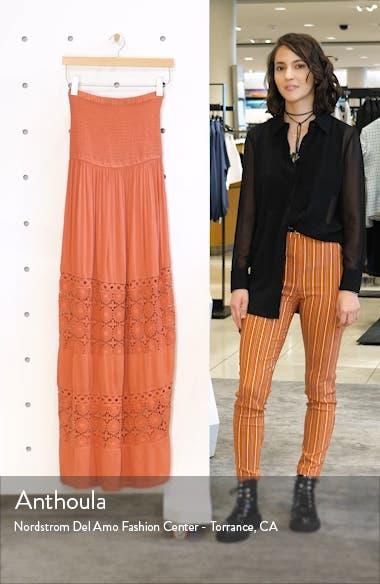 Farrah Smocked Cover-Up Maxi Dress, sales video thumbnail