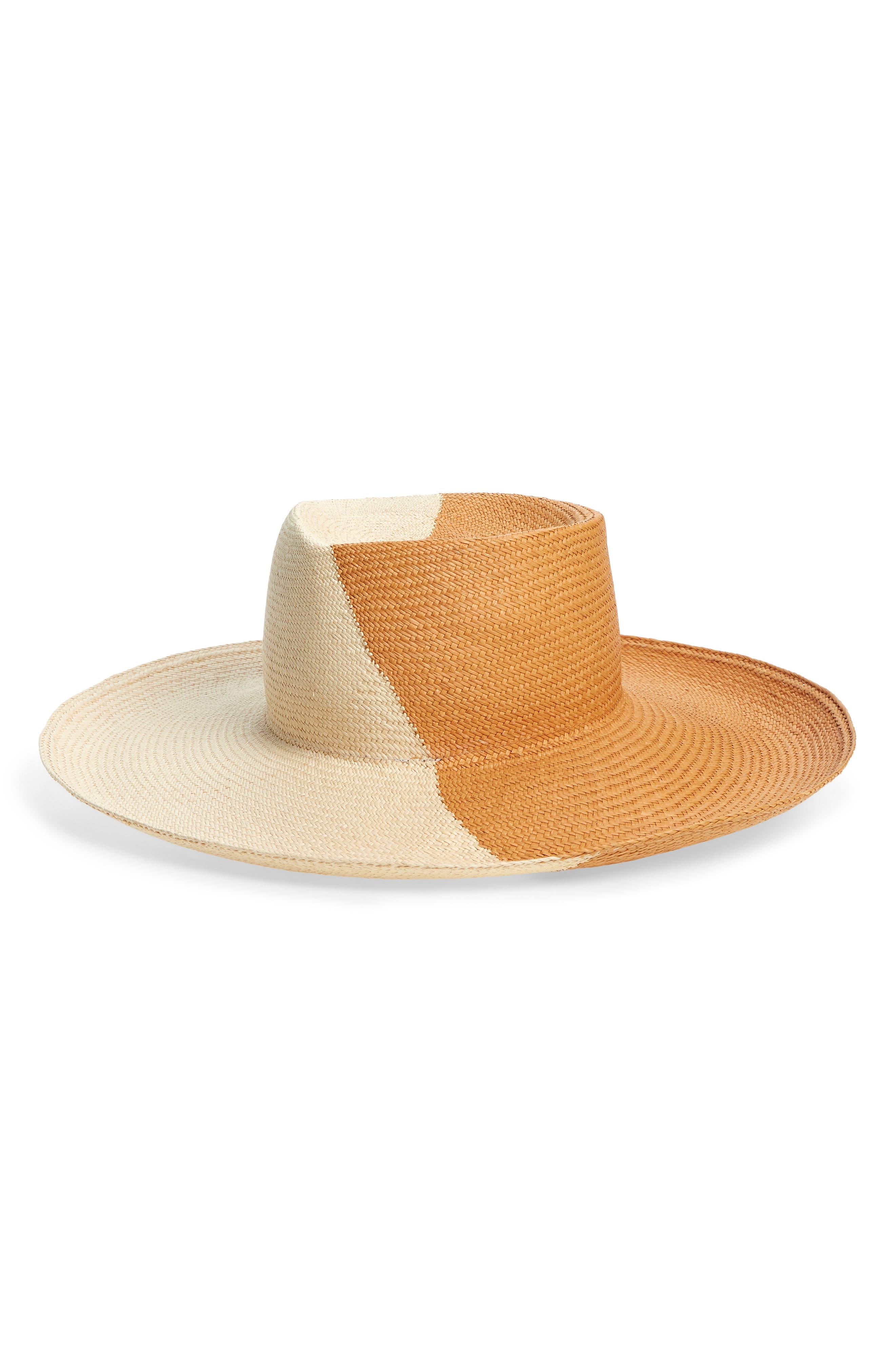 Drury Lane Straw Panama Hat