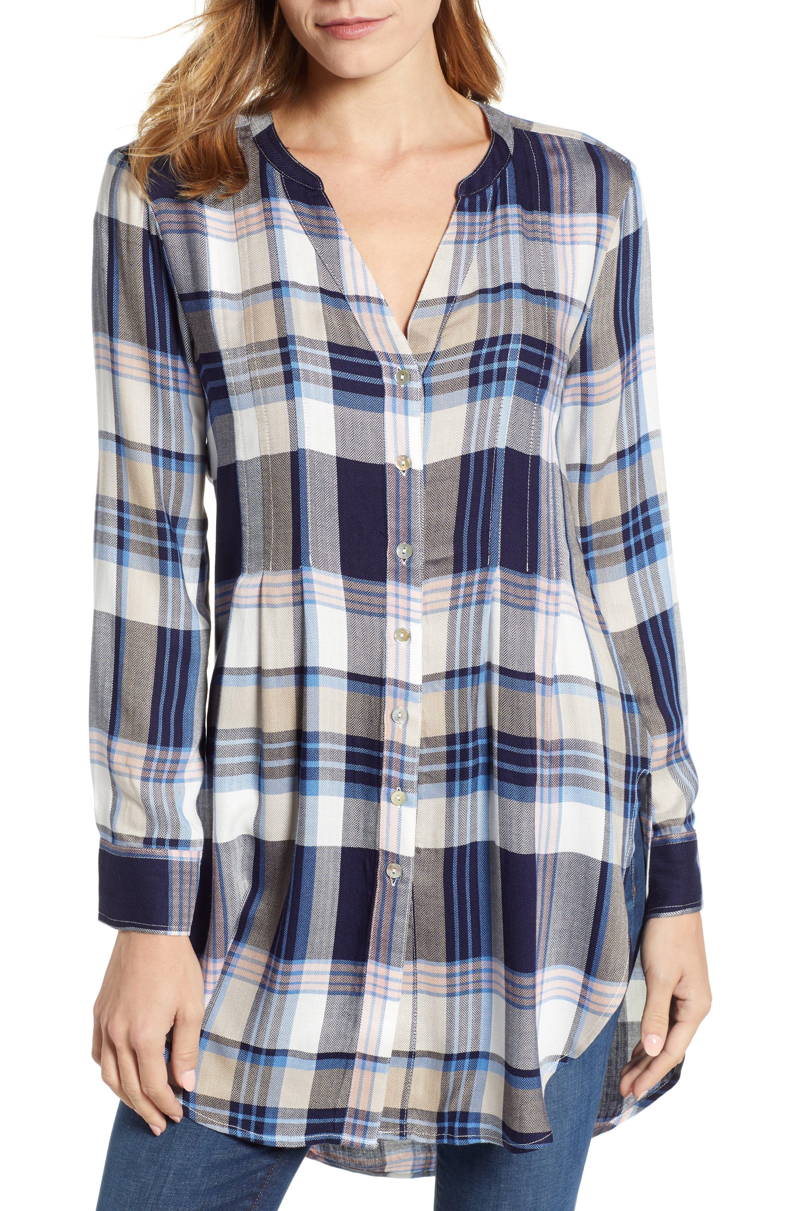 ,                             Release Pleat Tunic Shirt,                             Main thumbnail 1, color,                             401
