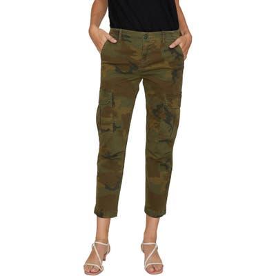 Sanctuary Squad Camo Crop Cargo Pants