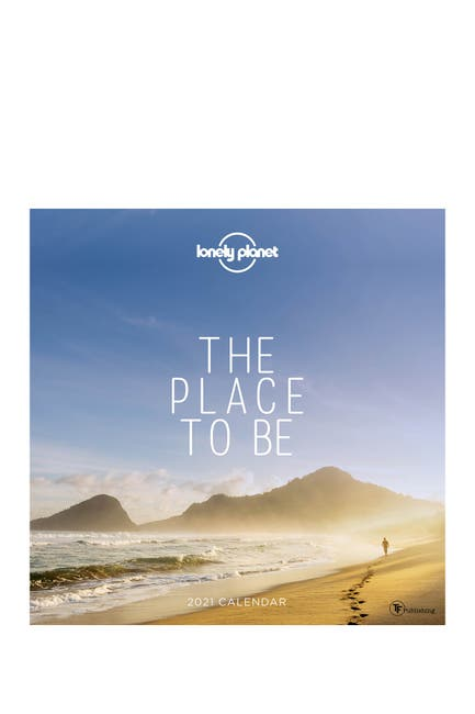 Image of TF Publishing 2021 The Place to Be Wall Calendar