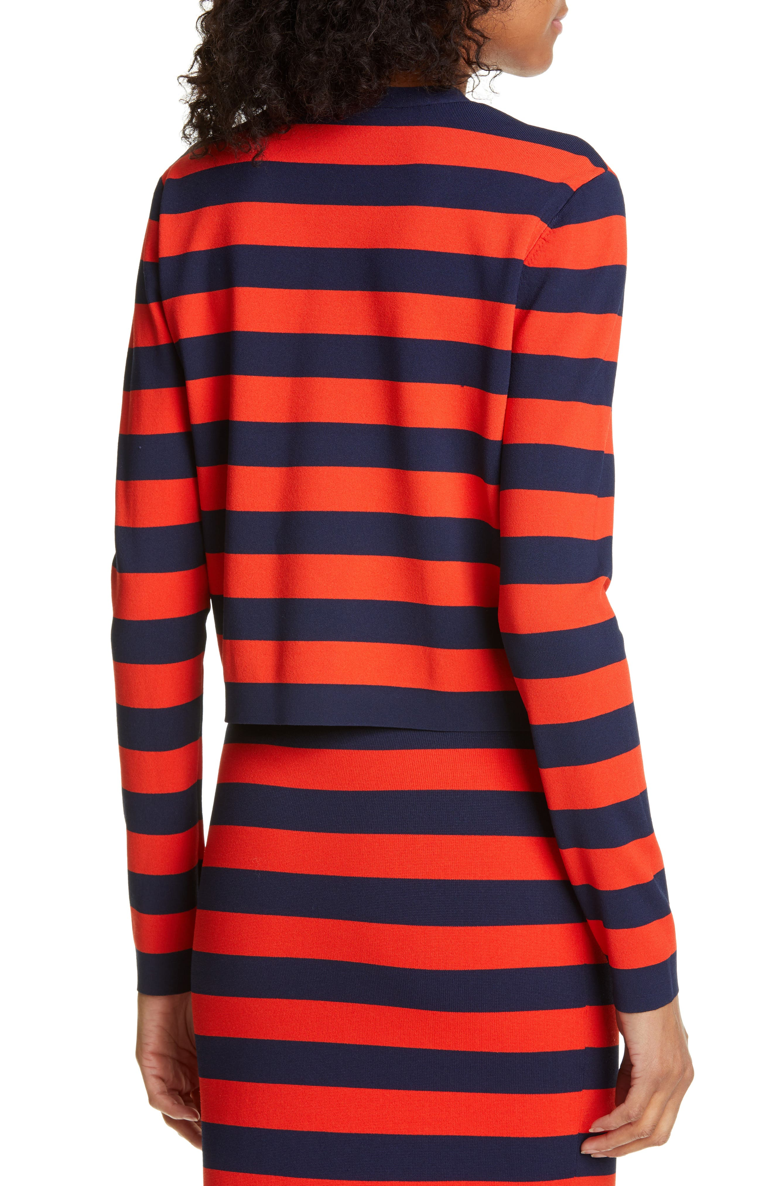 ,                             Broome Stripe Sweater,                             Alternate thumbnail 2, color,                             RED MULTI