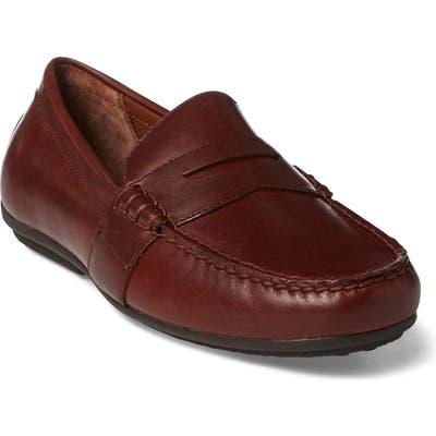 Polo Ralph Lauren Reynold Driving Shoe - Brown