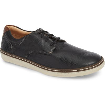 Johnston & Murphy Mcguffey Plain Toe Sneaker, Black