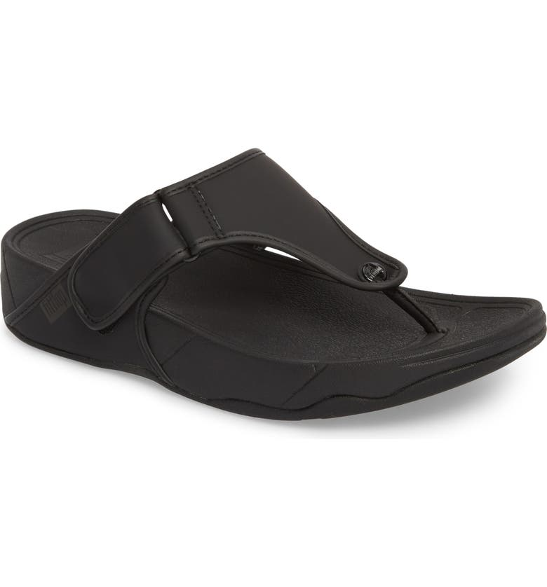 FITFLOP Trakk<sup>™</sup> II Sandal, Main, color, BLACK NEOPRENE