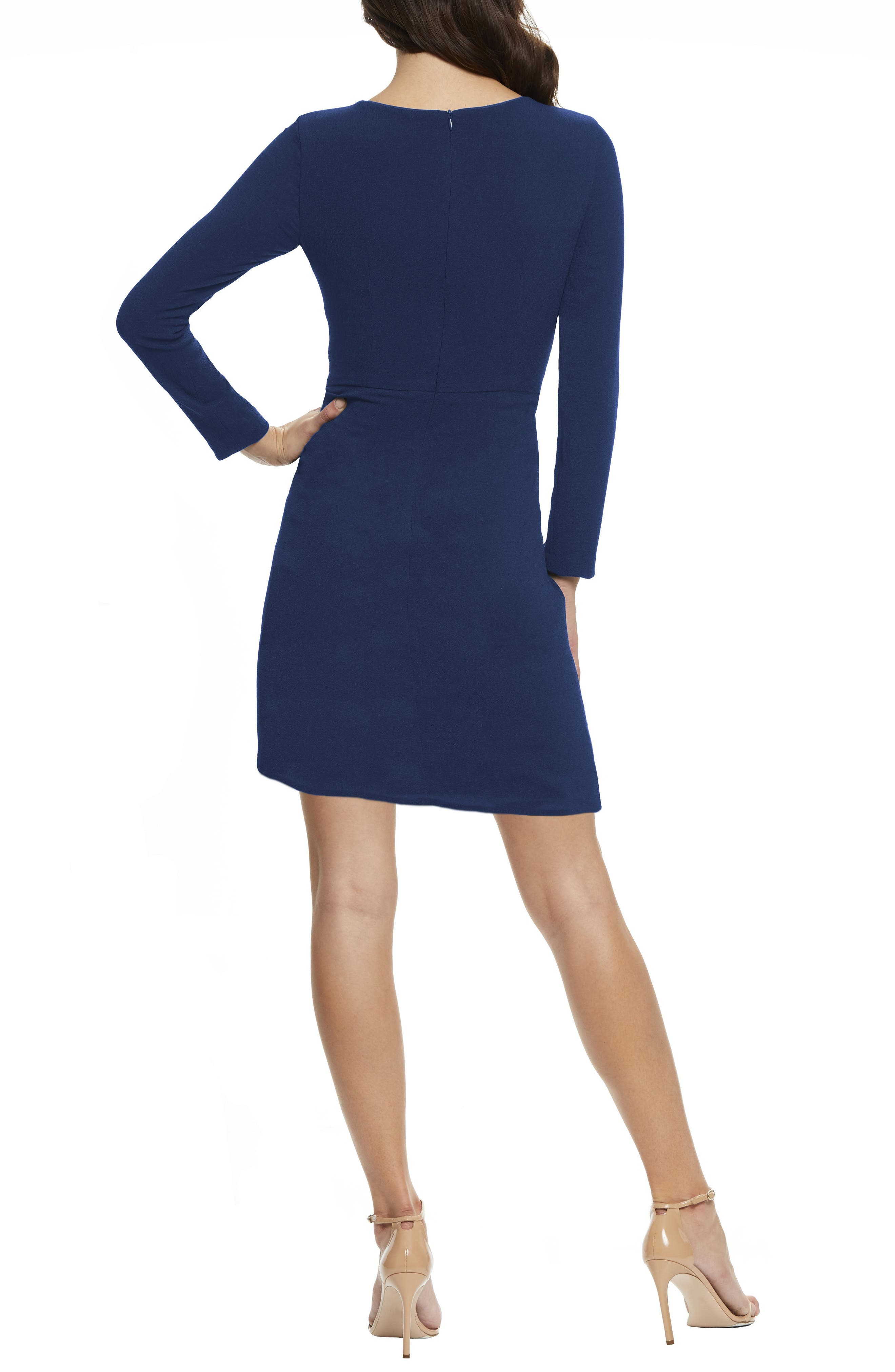 ,                             Coby Twisted Faux Wrap Cocktail Dress,                             Alternate thumbnail 13, color,                             400