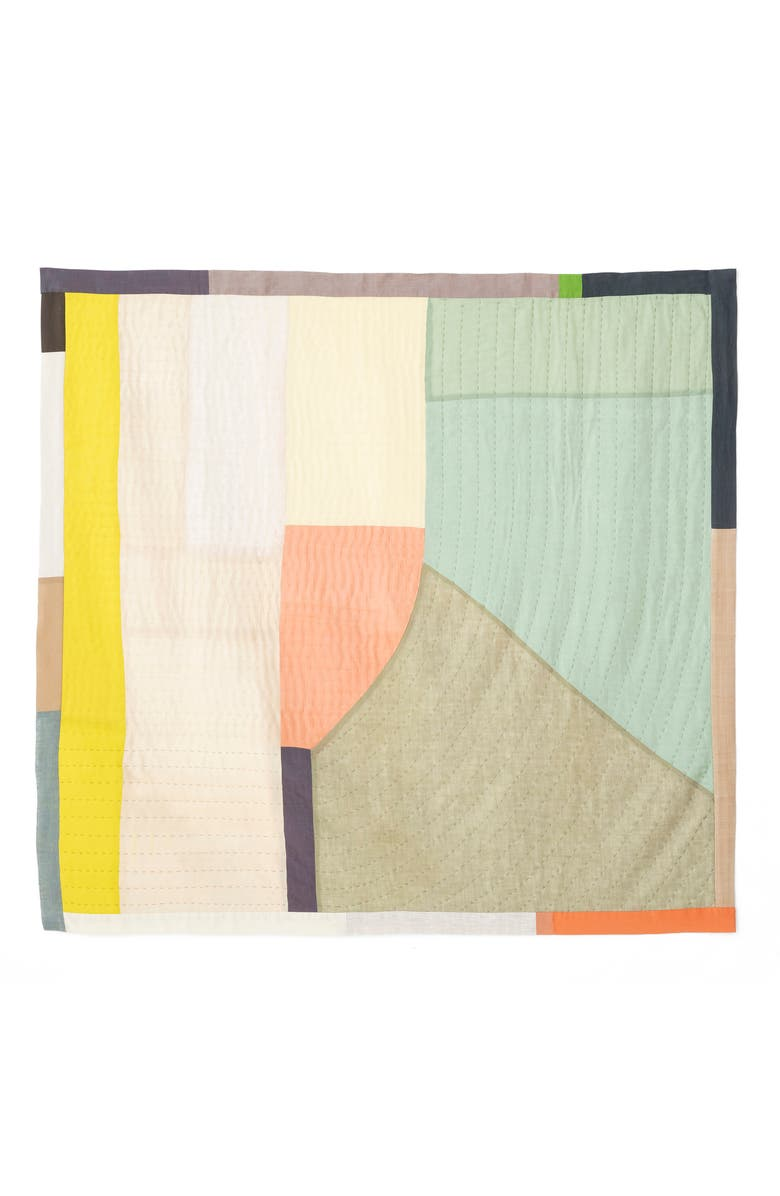 THOMPSON STREET STUDIO Abstract Landscape Quilt, Main, color, 300