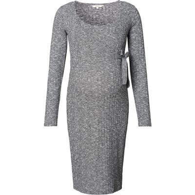 Noppies Giulia Maternity Sweater Dress, Grey