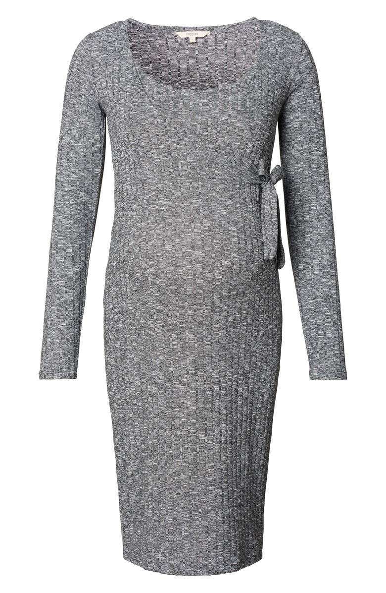 NOPPIES Giulia Maternity Sweater Dress, Main, color, 020
