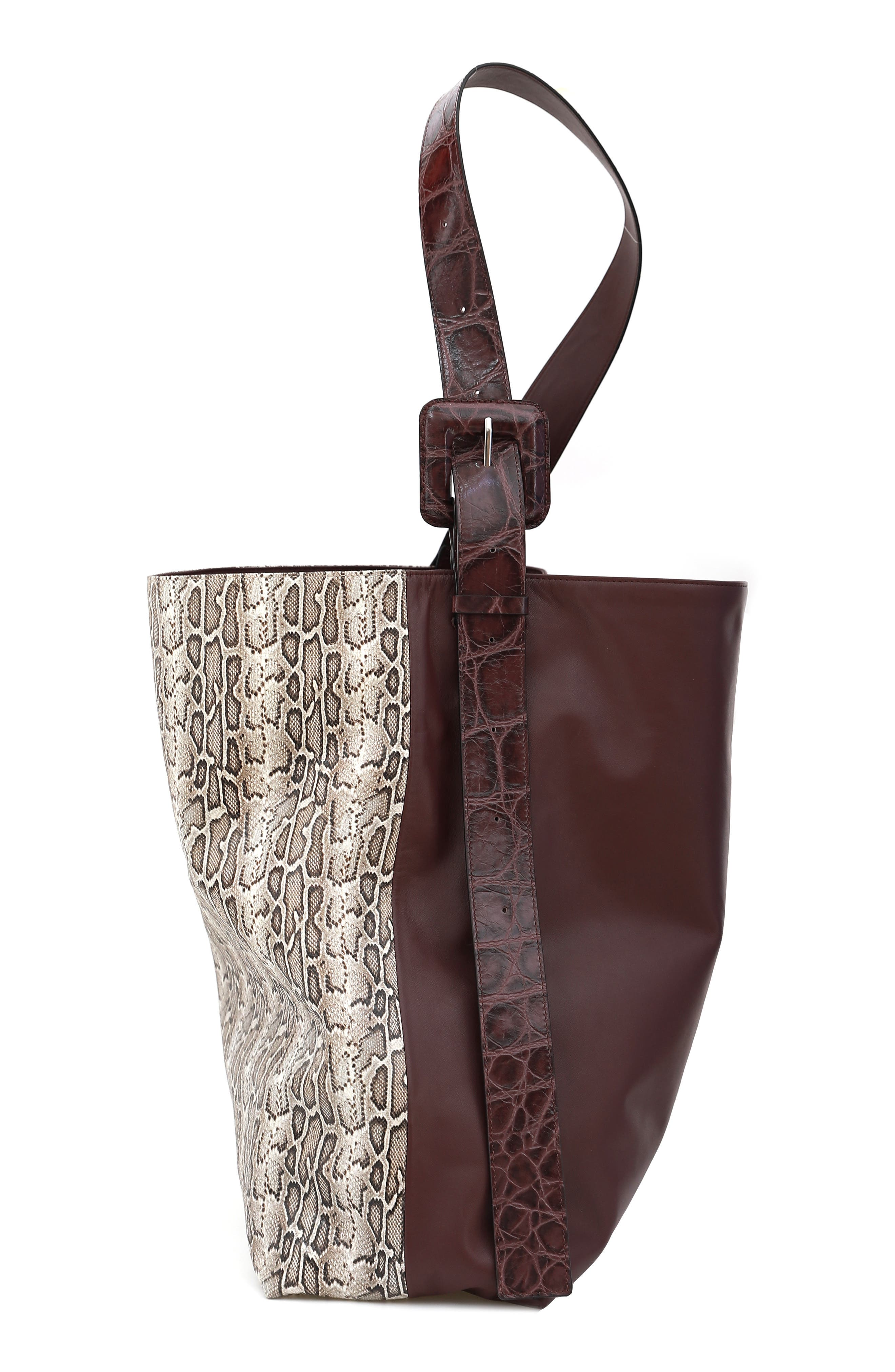 Gu-De Large Kate Colorblock Shoulder Bag