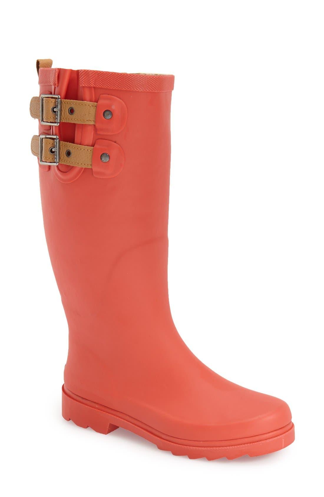 ,                             'Top Solid' Rain Boot,                             Main thumbnail 125, color,                             611
