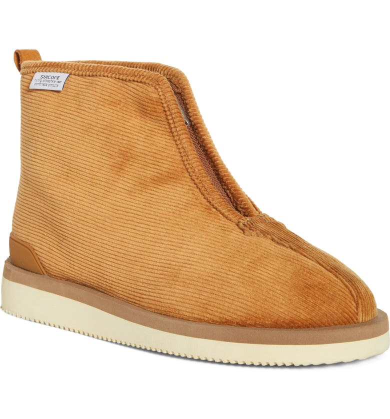 SUICOKE Kenn-Comab Genuine Shearling Lined Ankle Boot, Main, color, BROWN