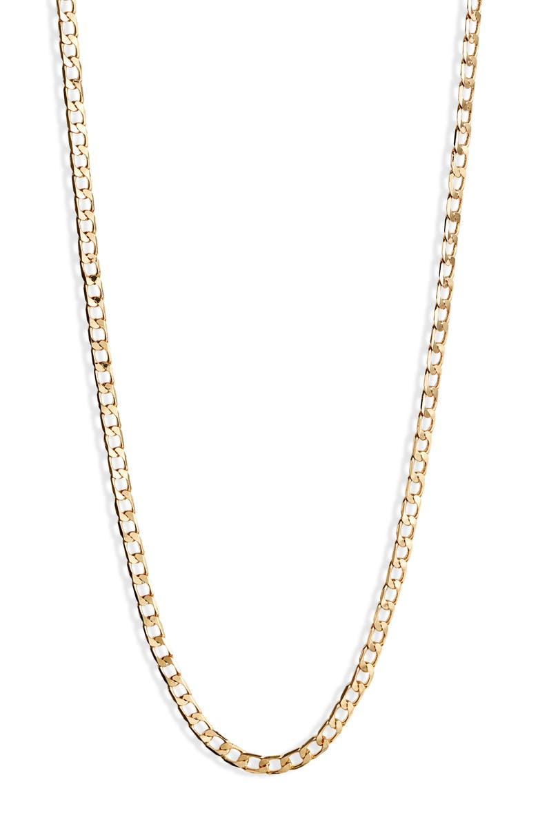 JENNY BIRD Walter Chain Necklace, Main, color, GOLD