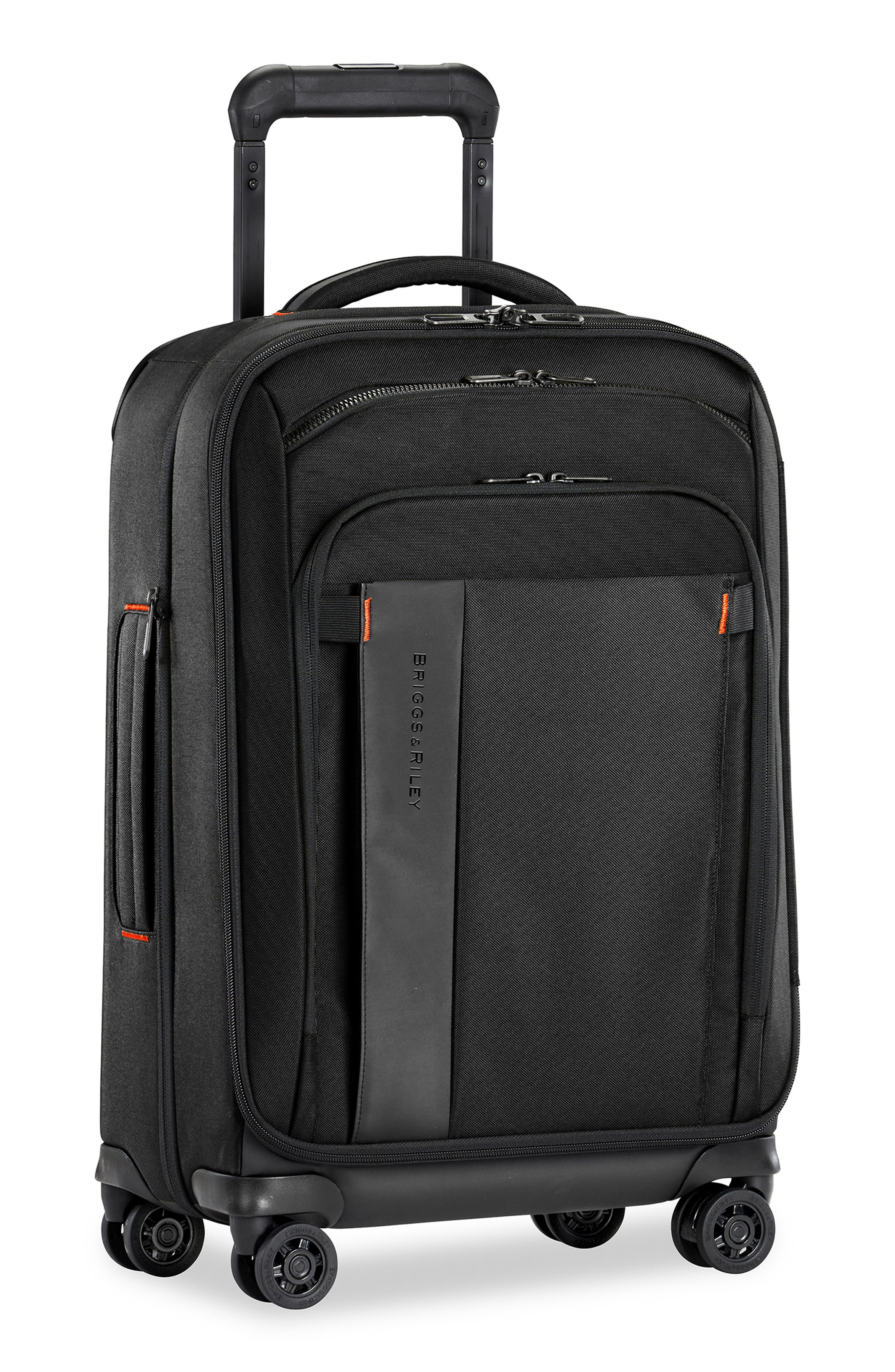 Zdx 22-Inch Expandable Spinner Suitcase