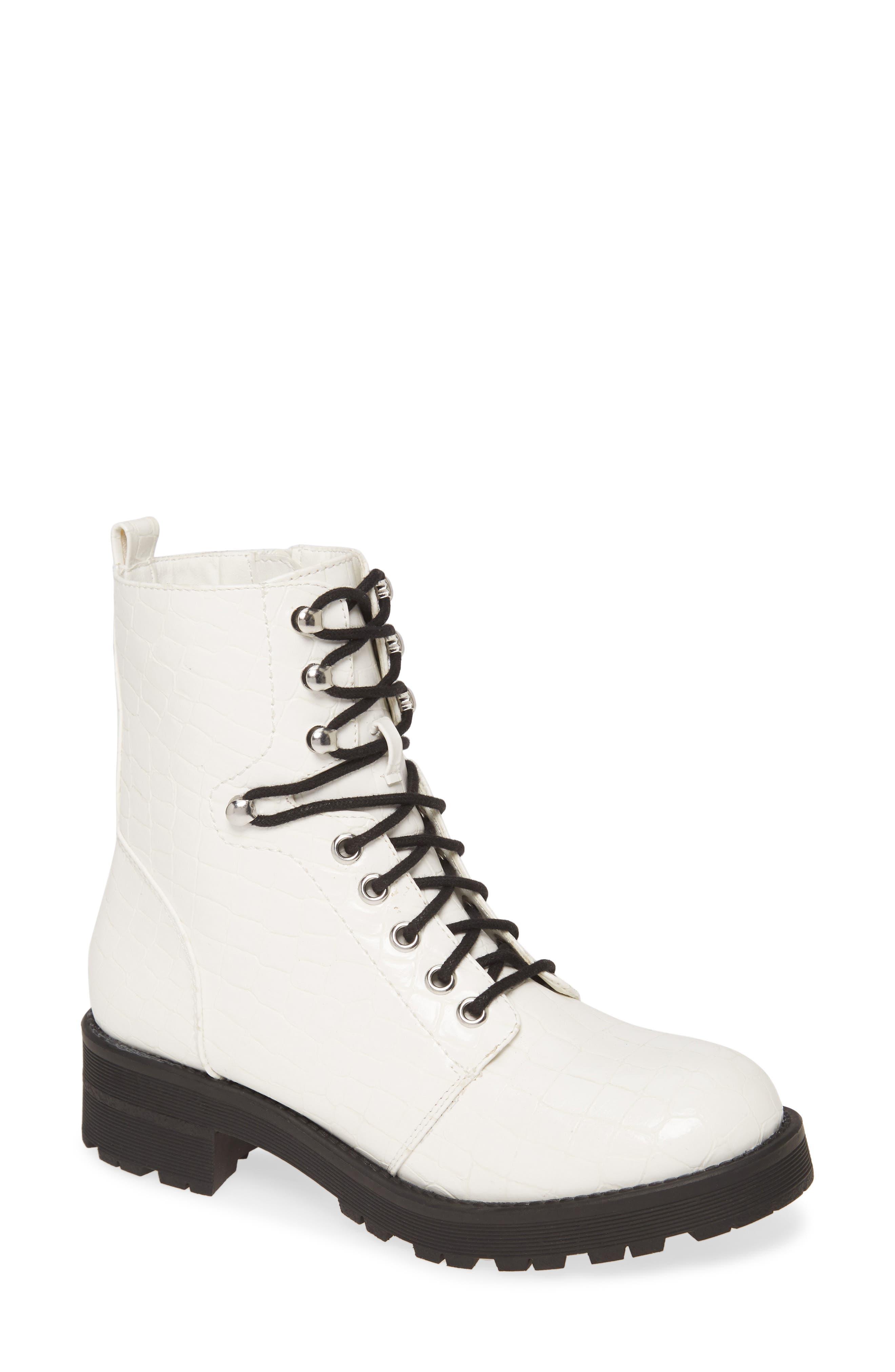 UPC 742282532588 product image for Women's Mia Indigo Boot, Size 6.5 M - White | upcitemdb.com
