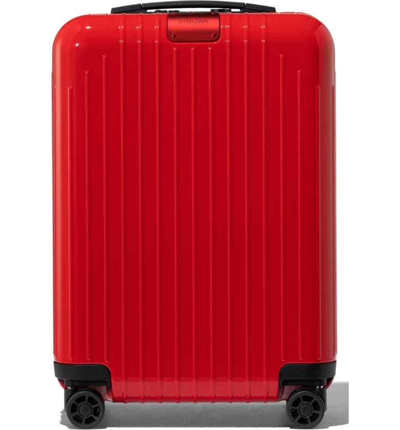RIMOWA Essential Lite 22-Inch Wheeled Suitcase, Main, color, RED