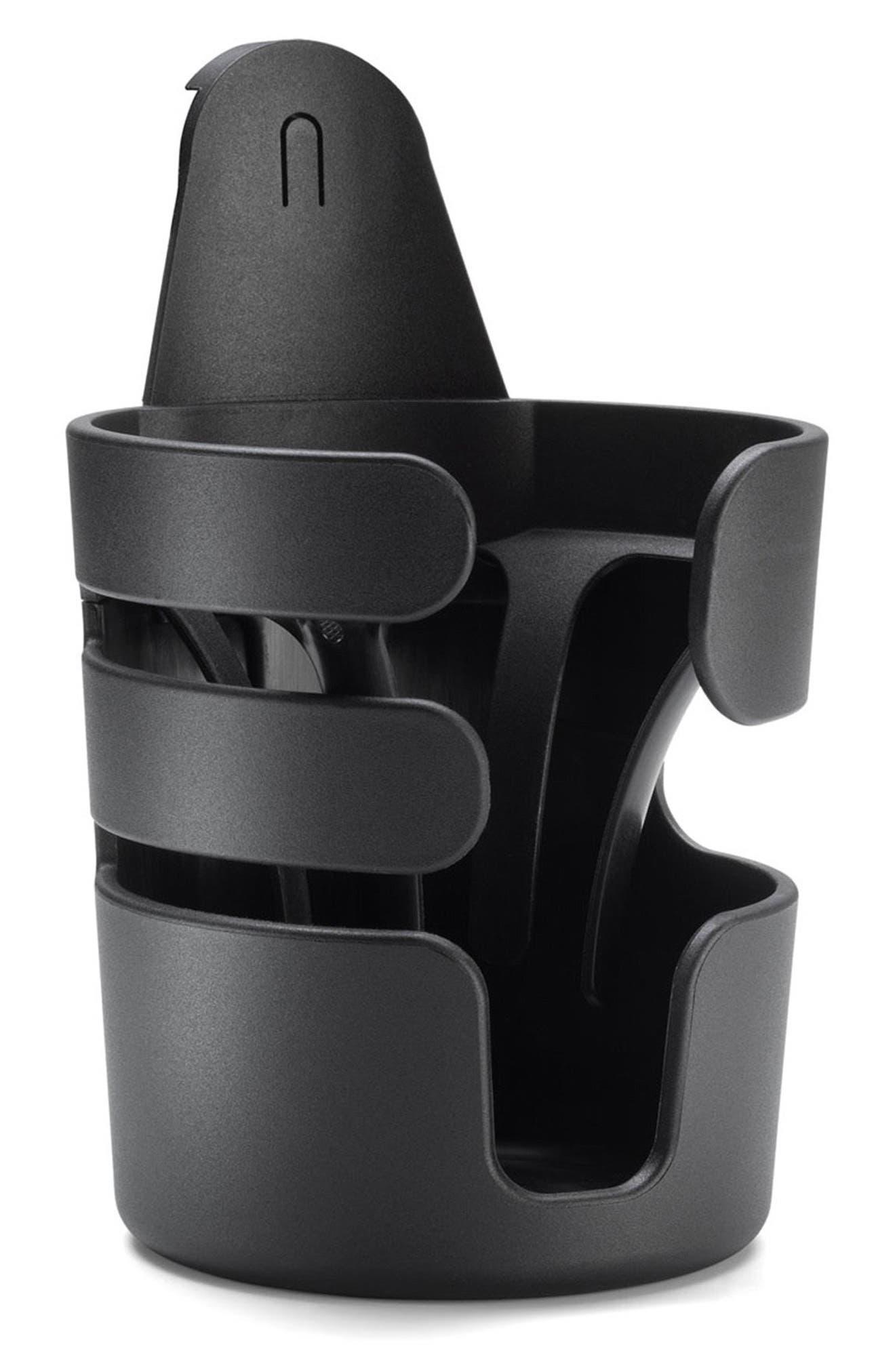 Stroller Cup Holder, Main, color, BLACK