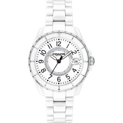 Coach Preston Ceramic Bracelet Watch, 32Mm