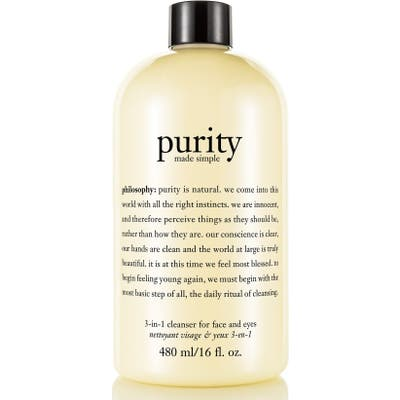 Philosophy Purity Made Simple One-Step Facial Cleanser, oz