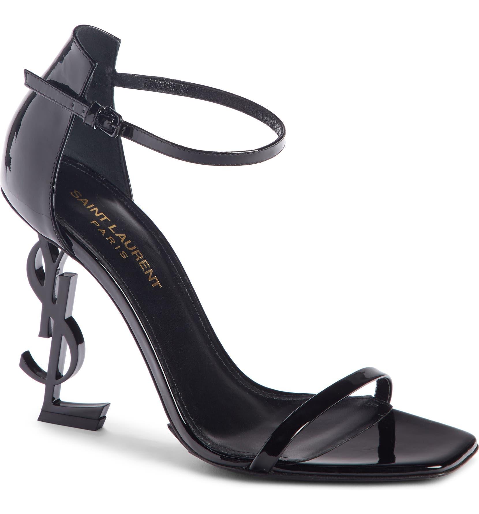 19fb467ab68 Saint Laurent Opyum YSL Ankle Strap Sandal (Women) | Nordstrom