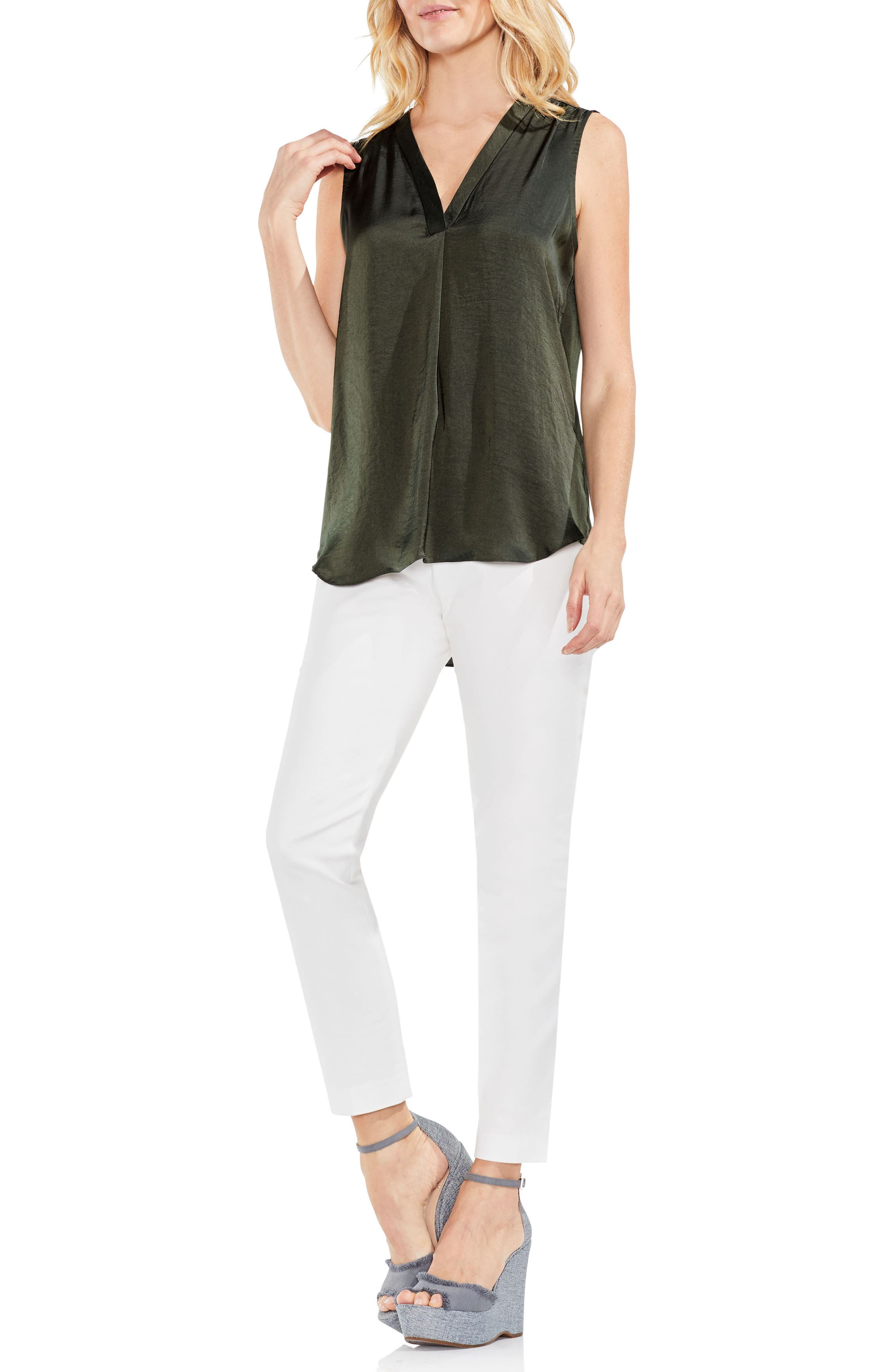 ,                             Rumpled Satin Blouse,                             Alternate thumbnail 97, color,                             300