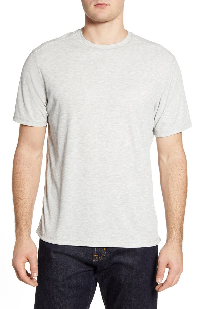 TOMMY BAHAMA Flip Tide Reversible Performance T-Shirt, Main, color, CONTINENTAL