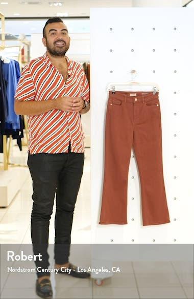 x Marianna Hewitt Bridget Instasculpt High Waist Crop Bootcut Jeans, sales video thumbnail
