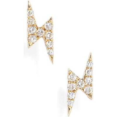 Ef Collection Diamond Stud Earrings