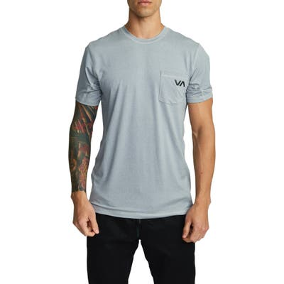 Rvca Sport Vent Pocket Performance T-Shirt, Black